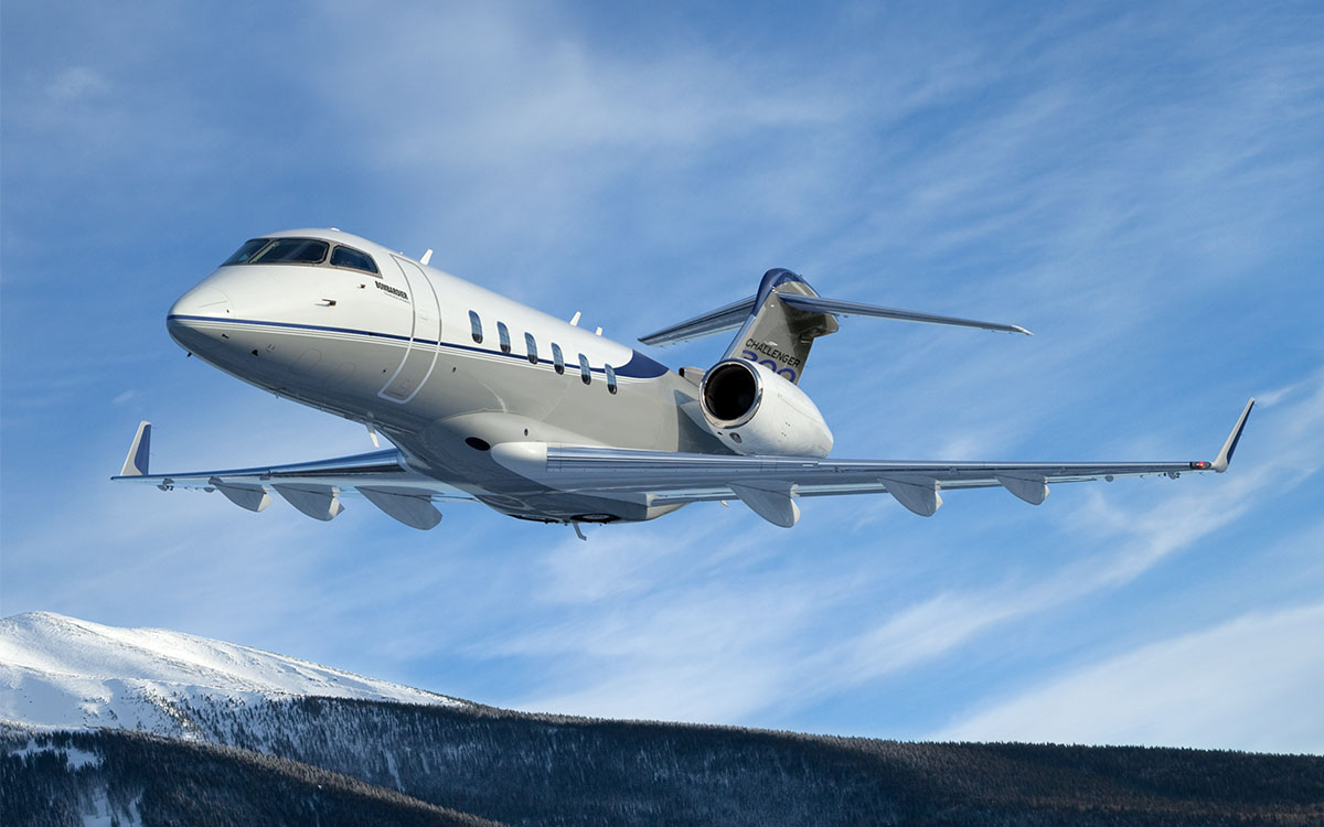 Bombardier Challenger 350 Becomes Go-To Jet